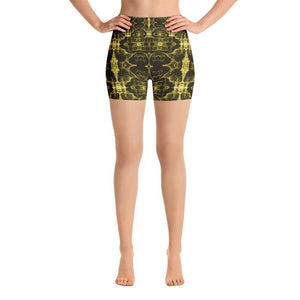 """Infinity"" Yoga Shorts - And Above All...YOGA"