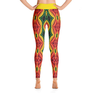 """Inside Frankencorn"" Deluxe Made to Order Yoga Pants - And Above All...YOGA"