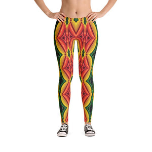 """Inside Frankencorn"" Standard Made to Order Yoga Pants - And Above All...YOGA"