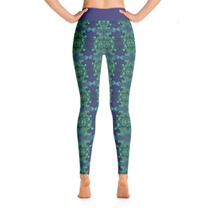 """Into the Wormhole"" Deluxe Yoga Pants - And Above All...YOGA"