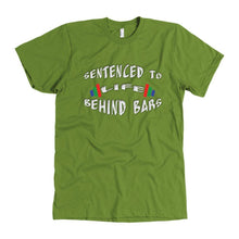 Life Behind Bars Men's T Shirt - And Above All...YOGA