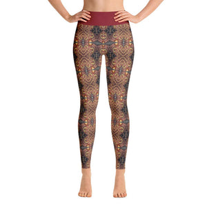 """Listening to One's Muse"" Made to Order Deluxe Yoga Pants - And Above All...YOGA"