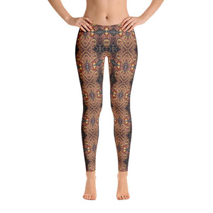 """Listening to one's Muse"" Made to Order Standard Yoga Pants - And Above All...YOGA"
