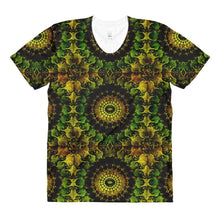 """Mandala"" Women's Crew Neck T-Shirt - And Above All...YOGA"