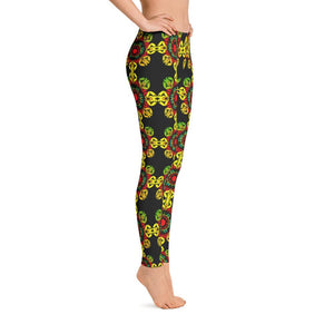 """Meditation Gates"" Standard Yoga Pants for Women - And Above All...YOGA"