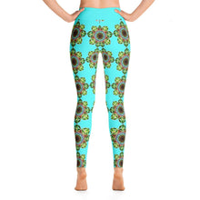 """Meditation Glow"" Deluxe Yoga Pants - And Above All...YOGA"