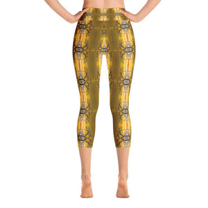 """Mesquite Fantasy"" Capri Yoga Pants - And Above All...YOGA"