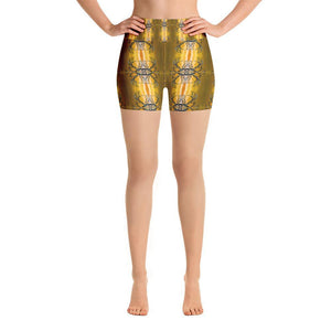 """Mesquite Fantasy"" Yoga Shorts - And Above All...YOGA"