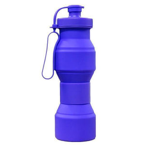 New ! 800ML Folding Outdoor Travel Water Bottle - And Above All...YOGA