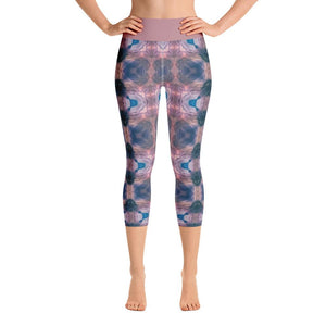 """O! For a Muse of Fire"" Deluxe, Made to Order Capri Yoga Pants - And Above All...YOGA"
