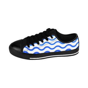 """Ocean Waves"" Deluxe Women's Sneakers - And Above All...YOGA"