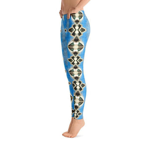 """Opera House Abstract"" Yoga Pants - And Above All...YOGA"