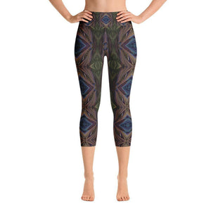 """Organized Mind"" Capri Yoga Pants - And Above All...YOGA"