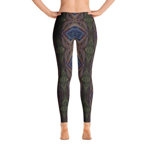 """Organized Mind"" Yoga Pants - And Above All...YOGA"