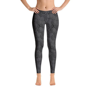"""Paint it Black"" Yoga Pants - And Above All...YOGA"