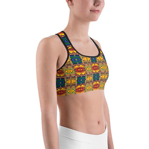 """Pencil Box"" Deluxe Made to Order Sports Bra - And Above All...YOGA"