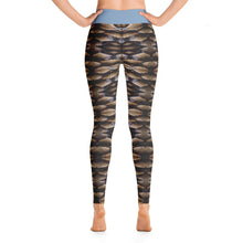Pinecone Illusion Deluxe Made to Order Yoga Pants-yoga apparel-Fitness Wear, yoga pants, $50 and up-And Above All...YOGA