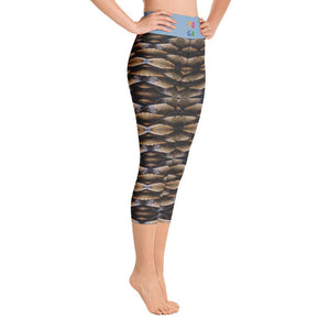 Pinecone Illusion Deluxe Made to Order Yoga Pants-Yoga Wear-fitness wear, yoga pants, capris, $30-$50-And Above All...YOGA