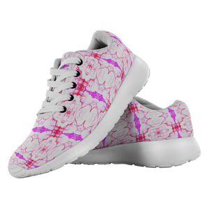 """Pink Eruption"" Running Shoes - And Above All...YOGA"