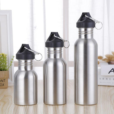 Portable sport drinking water bottle stainless ste