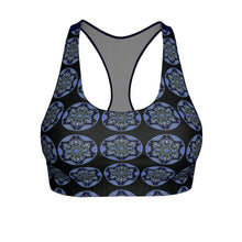 """Quietude"" Cut & Sew Sports Bra - And Above All...YOGA"