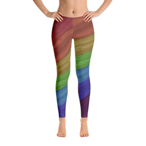 """Rainbow Flow"" Yoga Pants - And Above All...YOGA"