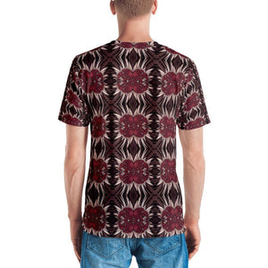 """Reflection"" Overall Print Men's T-shirt - And Above All...YOGA"
