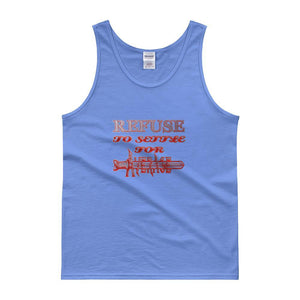 """Refuse to Settle"" Cotton Tank top - And Above All...YOGA"