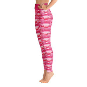 """Rudolph's Red Nose"" Deluxe, Made to Order Yoga Pants - And Above All...YOGA"