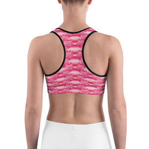 """Rudolph's Red Nose"" Sports Bra - And Above All...YOGA"