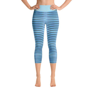 """Simple Dreaming"" Deluxe Capri Yoga Pants - And Above All...YOGA"