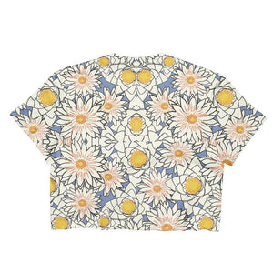 """Spring Petals"" Women's Crop Top - And Above All...YOGA"