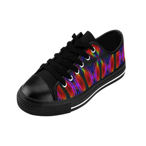"""String Theory Imagined"" Deluxe Women's Sneakers - And Above All...YOGA"
