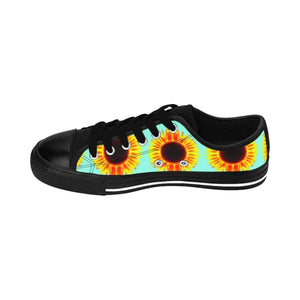 """Sunflowers"" Deluxe Women's Sneakers - And Above All...YOGA"