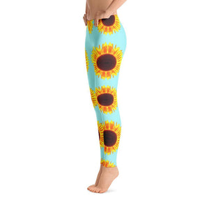 """Sunflowers"" Yoga Pants - And Above All...YOGA"