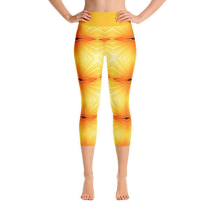 """Sunspots"" Capri Yoga Pants - And Above All...YOGA"