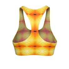 """Sunspots"" Cut & Sew Sports Bra - And Above All...YOGA"