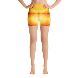 """Sunspots"" Yoga Shorts - And Above All...YOGA"