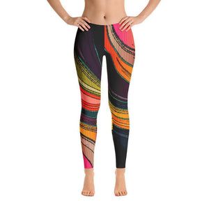 """Swirling Colors"" Yoga Pants - And Above All...YOGA"
