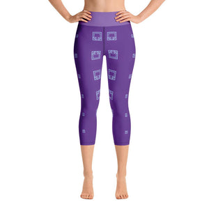 """The Gift to be Simple"" Deluxe Made to Order Carpi Yoga Pants - And Above All...YOGA"