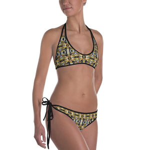 """Through The Looking Glass"" Made to Order Bikini - And Above All...YOGA"