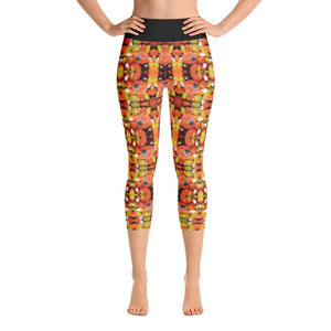 """Trick or Treat"" Deluxe, Made to OrderCapri Yoga Pants - And Above All...YOGA"