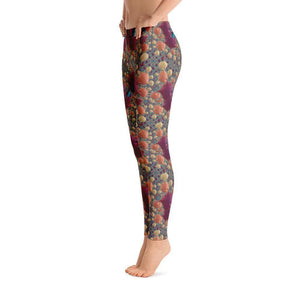 """Underwater Fantasy"" Yoga Pants - And Above All...YOGA"