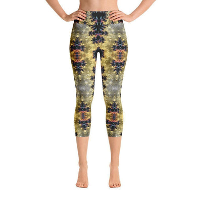 """Visceral"" Capri Yoga Pants - And Above All...YOGA"