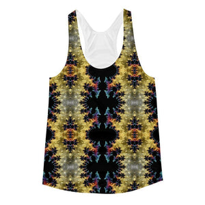"""Visceral"" Women's Racerback Tank Top - And Above All...YOGA"