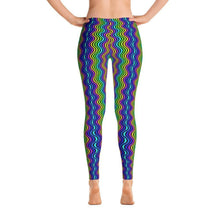 """Waves"" Yoga Pants - And Above All...YOGA"