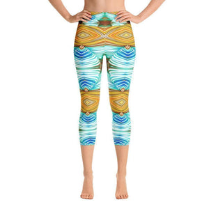 """Weaver's Needle"" Capri Yoga Pants - And Above All...YOGA"
