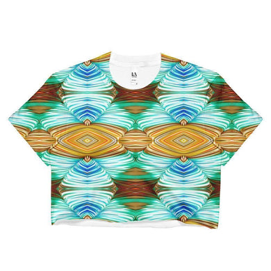 """Weaver's Needle"" Women's Crop Top - And Above All...YOGA"