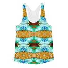 """Weaver's Needle"" Women's Racerback Tank Top - And Above All...YOGA"