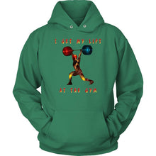 Weightlifting Unisex Hoodie - And Above All...YOGA